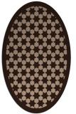 rug #910140 | oval borders rug