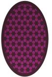 rug #910212 | oval geometry rug