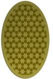 rug #910453 | oval light-green borders rug