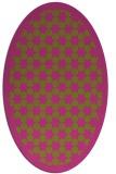 rug #910461 | oval borders rug