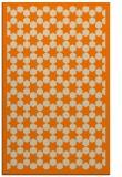 rug #910485 |  orange borders rug