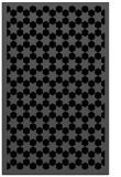 rug #910493 |  black geometry rug