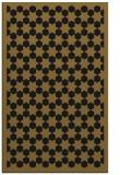 rug #910505 |  mid-brown borders rug