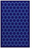 rug #910589    blue-violet borders rug