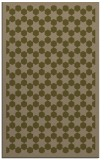 rug #910601 |  mid-brown borders rug