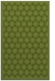 rug #910613    green geometry rug