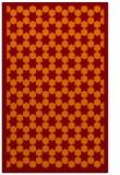 rug #910685 |  red-orange borders rug