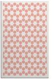 rug #910713 |  pink geometry rug
