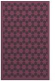 rug #910717 |  purple borders rug