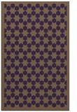 rug #910725 |  mid-brown borders rug