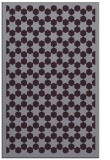 rug #910729 |  purple borders rug