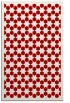 rug #910733 |  red geometry rug