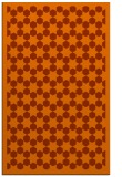 rug #910749 |  red-orange geometry rug