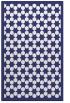 rug #910773    blue geometry rug