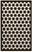 rug #910797 |  brown geometry rug
