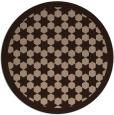 rug #910860 | round borders rug