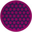 rug #910881   round blue borders rug