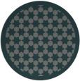 rug #910977 | round green rug
