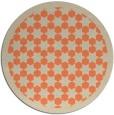 rug #911053 | round beige popular rug