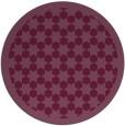 rug #911079 | round geometry rug