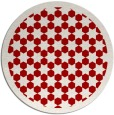 rug #911093 | round red borders rug