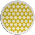 rug #911161 | round yellow borders rug
