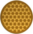 rug #911165 | round light-orange popular rug