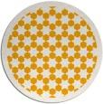 rug #911189 | round light-orange borders rug