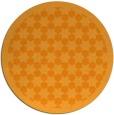 rug #911197 | round light-orange borders rug