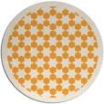 rug #911201 | round light-orange borders rug