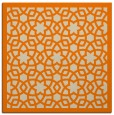 rug #911565 | square beige borders rug