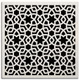 rug #911569 | square white borders rug