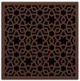 rug #911581 | square brown borders rug
