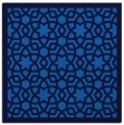 rug #911597 | square blue borders rug