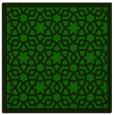 rug #911625   square green rug