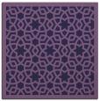 rug #911665 | square purple rug