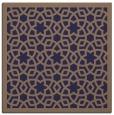 rug #911673 | square beige borders rug