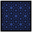 rug #911737 | square black borders rug
