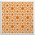 rug #911769 | square orange borders rug