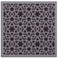 rug #911809 | square purple geometry rug