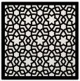rug #911845 | square white borders rug