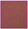rug #911901 | square light-green borders rug