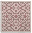 rug #911913 | square pink borders rug
