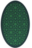 rug #911995 | oval borders rug