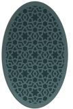 rug #912002 | oval borders rug