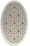 rug #912081   oval geometry rug