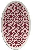 rug #912145 | oval borders rug