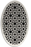 rug #912206 | oval borders rug