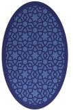 rug #912215 | oval borders rug