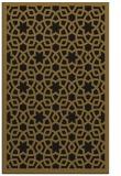 rug #912305    mid-brown geometry rug